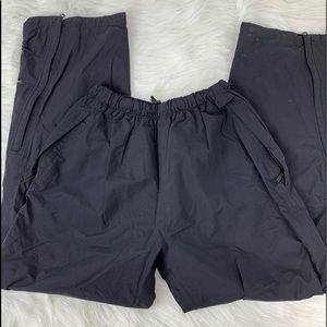REI Black Nylon Women's Sweatpants Jogger Style S
